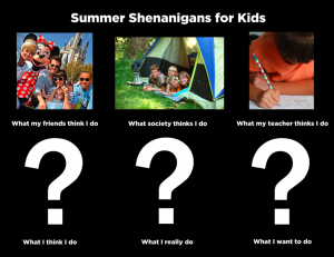 Summer Shenanigans Contest