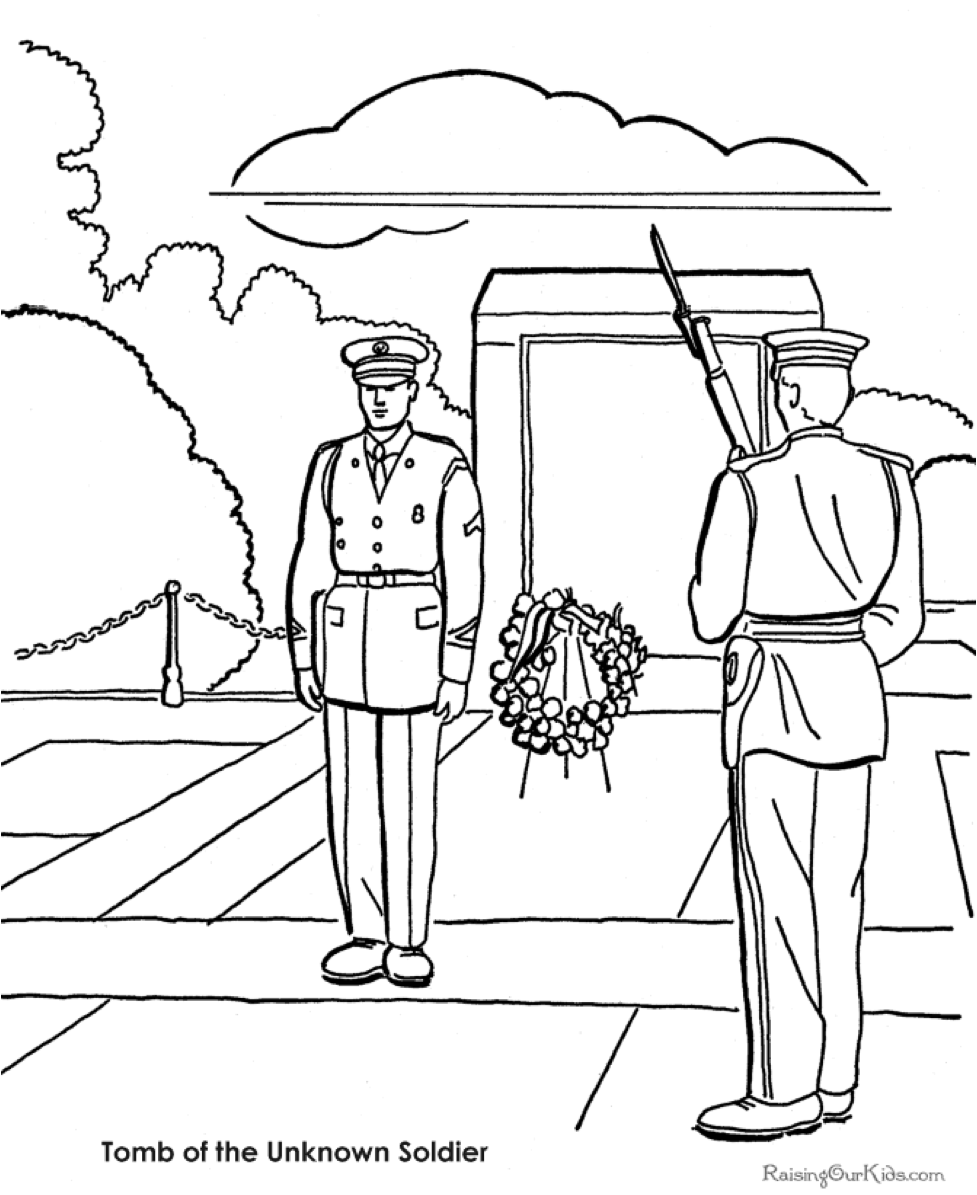 patriotic military coloring pages correct coloring and facts - Patriotic Military Coloring Pages