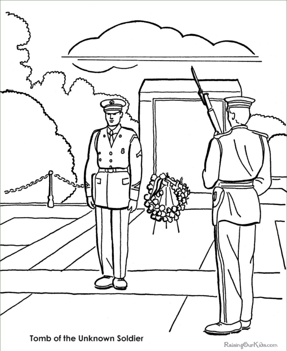 Раскраски памятник неизвестному солдату