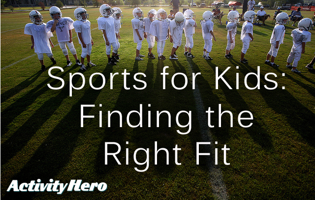 How Parents can Help Choosing Sports for Kids