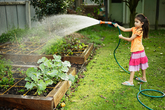 Kids in the garden 5 ways for parents kids to grow together for Gardening for kids