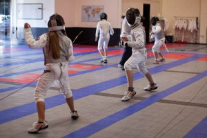Fencing builds physical and mental strength for kids!
