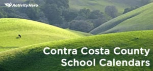 Contra Costa County School Calendars