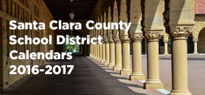 Santa Clara County School District Calendars 2016-2017