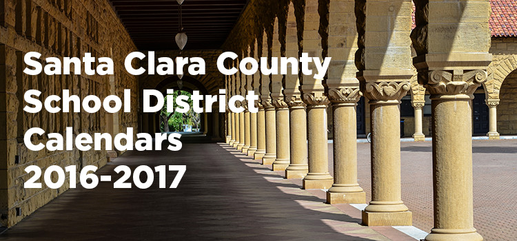 Santa Clara County School District Calendars 2015-2016