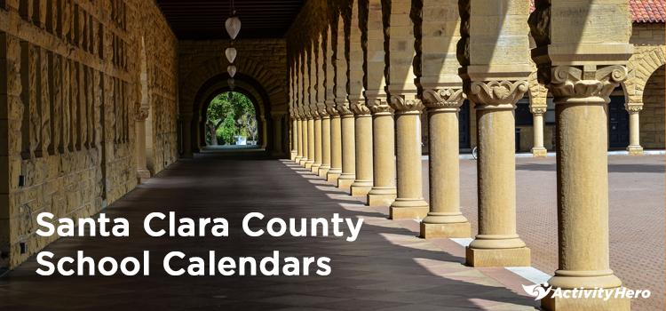 Pausd Calendar 2020 Santa Clara County School Calendars | 2019 2020
