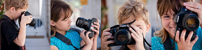 children-learning-to-use-dslr-cameras