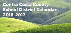 Contra Costa County School District Calendars 2016-2017