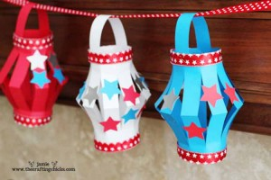 3 Unplugged Crafts for 4th of July