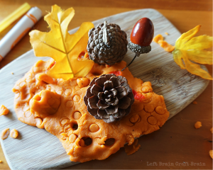 Thanksgiving kids' activities inspired by pumpkin spice