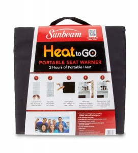 Sunbeam Heat-to-Go Seat Warmer