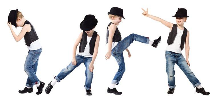 Kids Boys Ballet Shoes