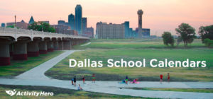 Dallas Area School District Calendar 2019-2020
