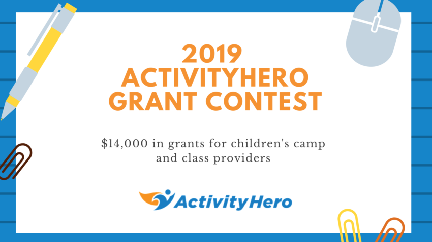 Eight Finalists Selected in the 2019 ActivityHero Grant Contest