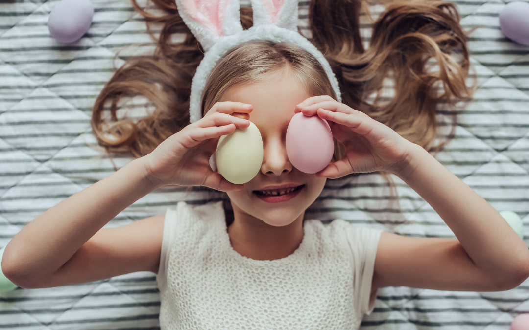 Easter ideas for kids during COVID-19.