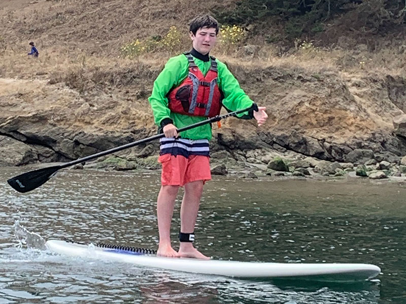 Paddleboarding camps for kids summer 2021